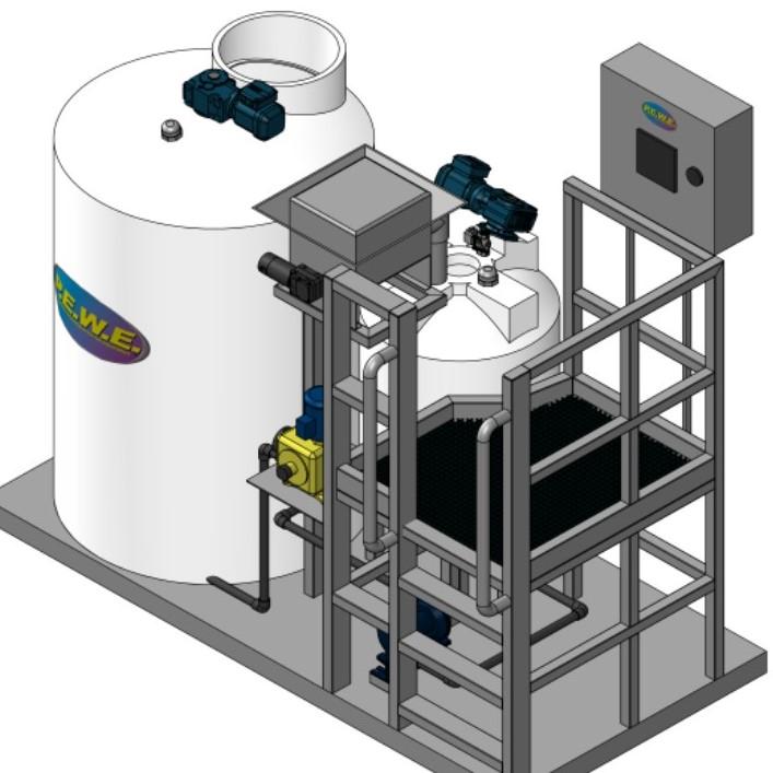 PolyAccu Dose Dry System - Square